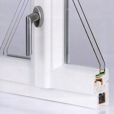 Visuel fenêtre pvc détail